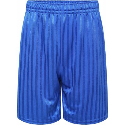 Royal shadow stripe shorts