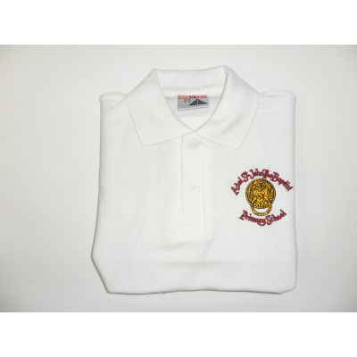Adel St.Johns the Baptist Primary School White Polo Shirt
