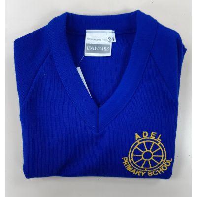 Adel Primary School V-Neck Pullover w/Logo