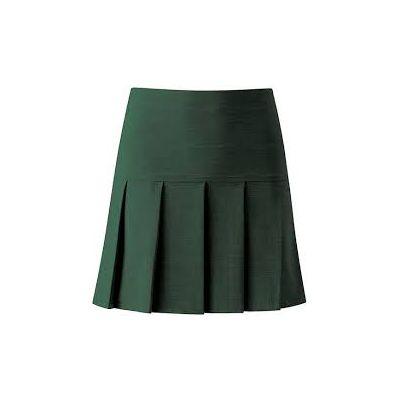 Allerton High Bottle Green Skirt