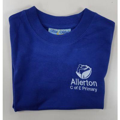 Allerton CofE Blue PE T-shirt