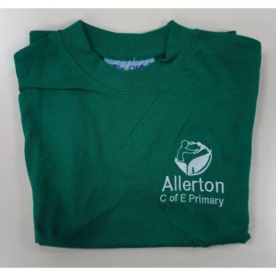 Allerton CofE Green PE T-shirt