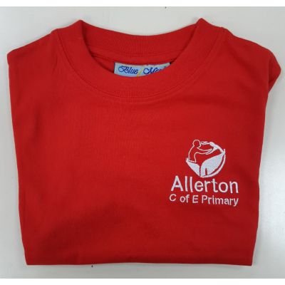 Allerton CofE Red PE T-shirt