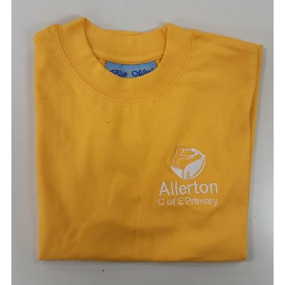 Allerton CofE Yellow PE T-shirt