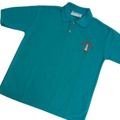 Austhorpe Primary Jade Polo Shirt