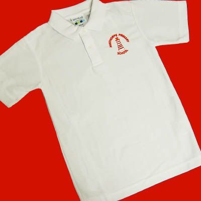 Austhorpe Primary White Polo