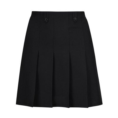Flower Skirt - Black