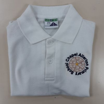 Chapel Allerton Primary School White Polo