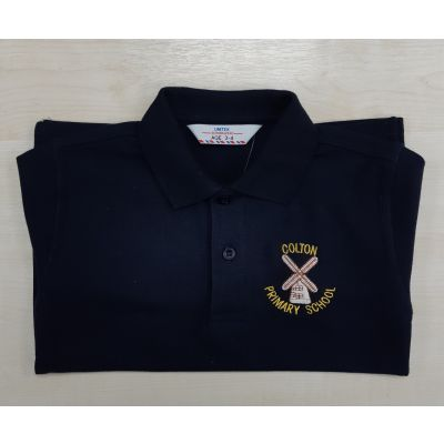 Colton Primary Navy Polo Shirt