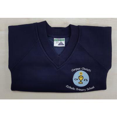 Corpus Christi Primary V-Neck Sweatshirt