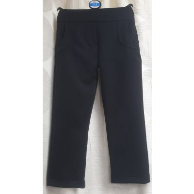 Girls Pocket Trousers - Black