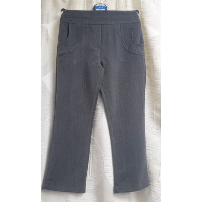 Girls Pocket Trousers - Grey