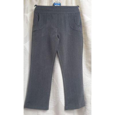Girls Pocket Trousers - Grey