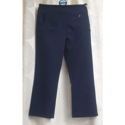 Girls Pocket Trouser - Navy