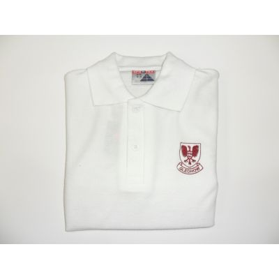 Gledhow Primary School White Polo Shirt