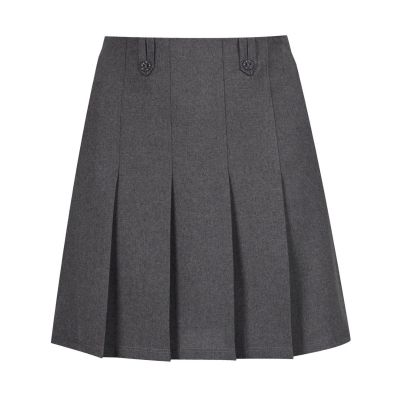 Flower Skirt - Grey