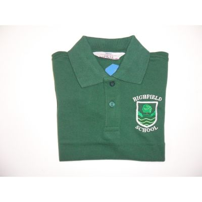 Highfield Primary School Green Polo Shirt