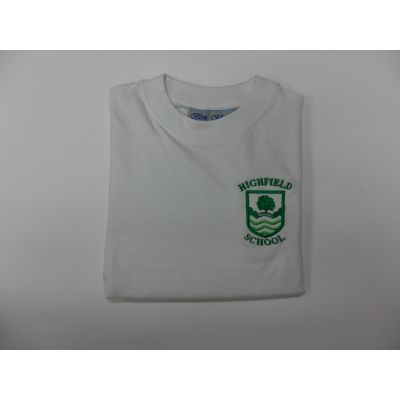 Highfield Primary School White T-Shirt