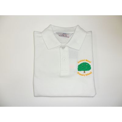 Ireland Wood Primary School White Polo Shirt