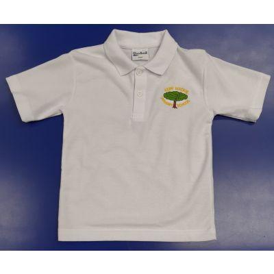 Kerr Mackie Primary White Polo