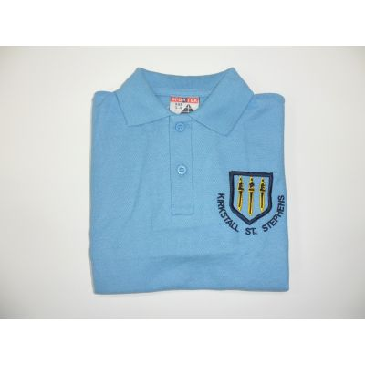 Kirkstall St. Stephens C of E Primary School Blue Polo Shirt