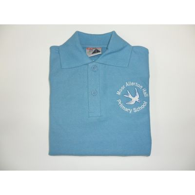 Moor Allerton Primary School Blue Polo Shirt
