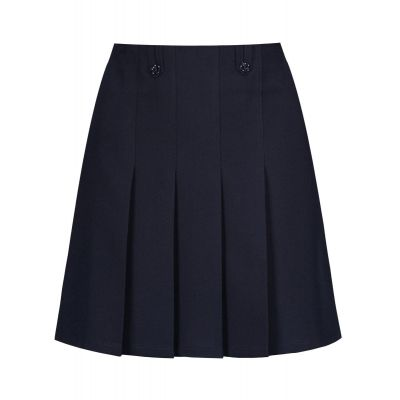 Flower Skirt - Navy