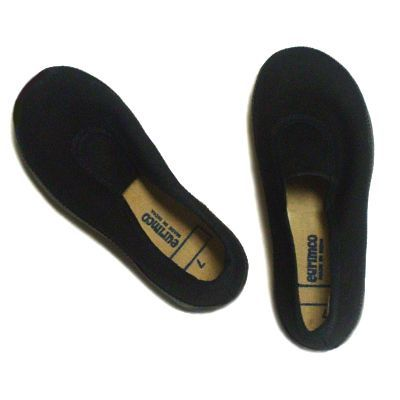 Black Slip-On Pumps