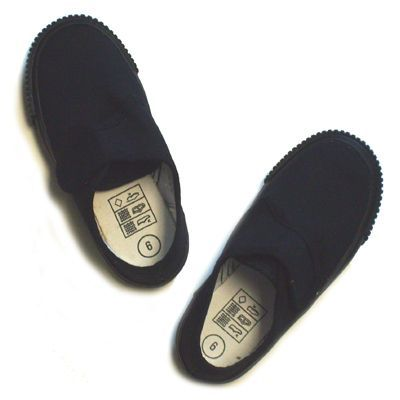 Black Velcro Pumps