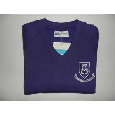 Alwoodley Primary V-Neck Sweatshirt