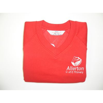 Allerton CofE Primary School V-Neck Sweatshirt