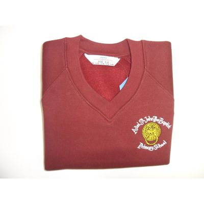 Adel St.Johns the Baptist Primary School V-Neck Sweatshirt