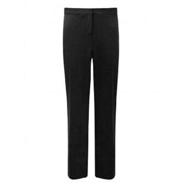 Girls Slim Fit Trousers - Black