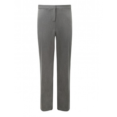 Girls Slim Fit Trousers - Grey