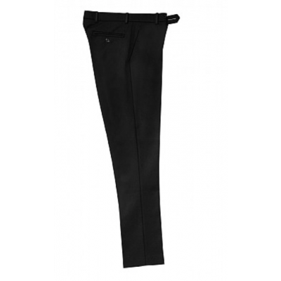 Boys Adjustable Waist Trousers - Black