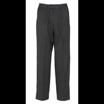 Boys Adjustable Waist Trousers - Grey