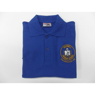 Shadwell Primary School Blue Polo Shirt