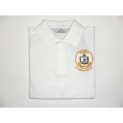 Shadwell Primary School White Polo Shirt