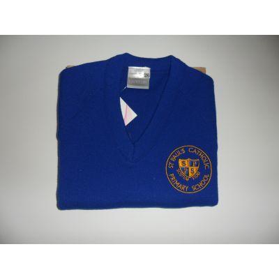 St Paul's V-Neck Pullover