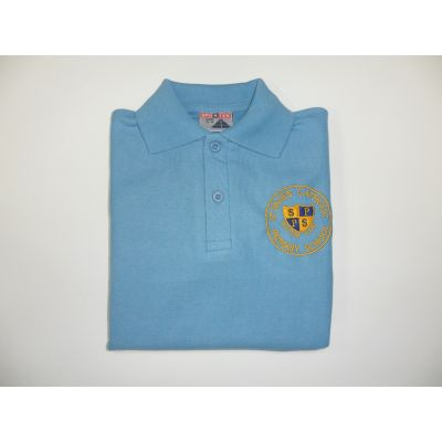 St Paul's Catholic Primary School Blue Polo Shirt