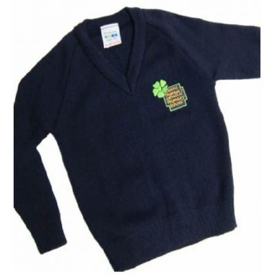 St Theresa's Primary Knitted V-Neck Pullover