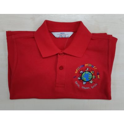 Swarcliffe Primary Red Polo Shirt