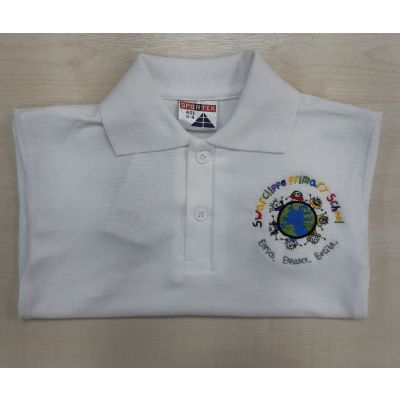 Swarcliffe Primary White Polo