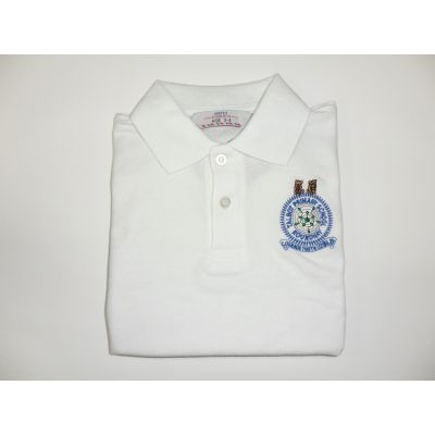 Talbot Primary School White Polo Shirt