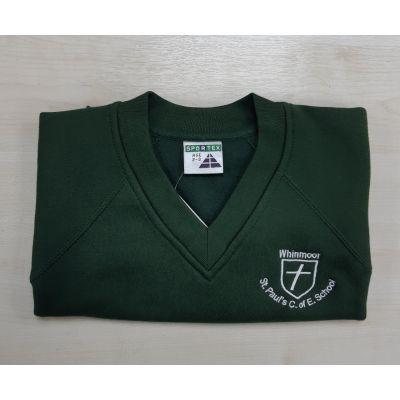 Whinmoor St Paul's V-Neck Sweatshirt
