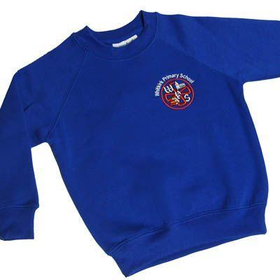 Whitkirk Primary School Sweatshirt *OLD LOGO*