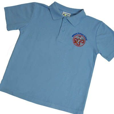 Whitkirk Primary Sky Polo *OLD LOGO*