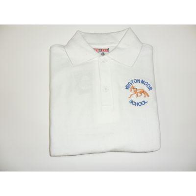 Wigton Moor Primary School White Polo Shirt